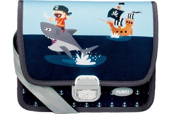 FUNKI Kindergarten-Tasche Pirate 6020.022 blau 265x200x700mm