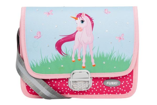 FUNKI Kindergarten-Tasche 6020.026 Pink Unicorn 265x200x700mm