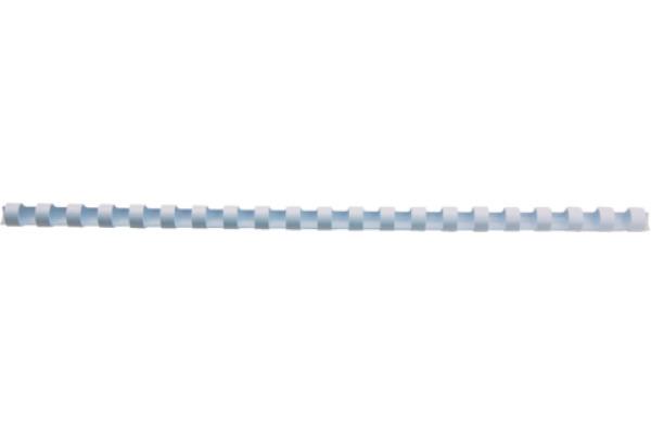 GBC Plastikbindrücken 14mm A4 4028198 weiss, 21 Ringe 100 Stück
