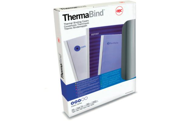 GBC Thermobindemappen 1,5mm A4 45445 weiss 25 Stück
