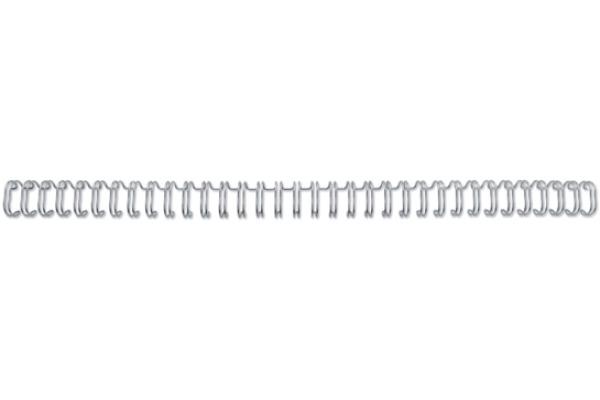 GBC Drahtbinderücken 6mm A4 RG810497 silber, 34...