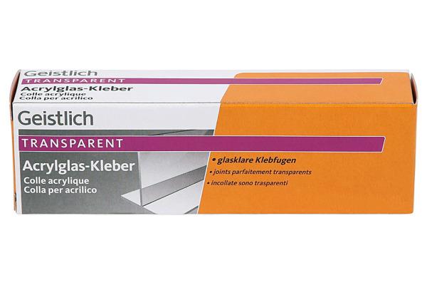 GEISTLICH Acrylglas-Kleber 1250.0100.10 transparent 42g