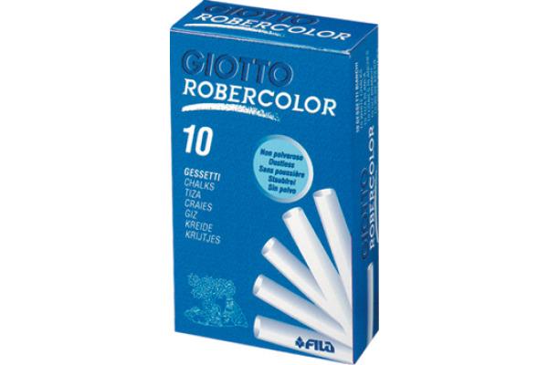 GIOTTO Kreiden Robercolor 538700 weiss 10 Stück