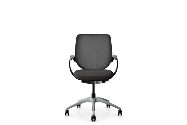 GIROFLEX Bürostuhl 313-4039 C2C 313-4039 schwarz, mit Armlehne