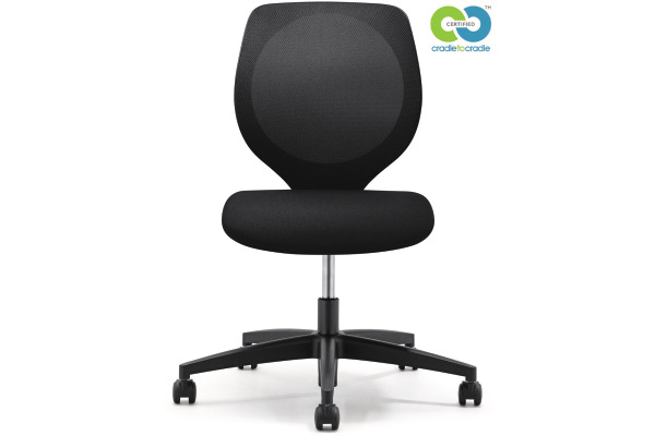 GIROFLEX Bürostuhl CHAIR2GO 353 353-3018 schwarz, ohne Armlehne