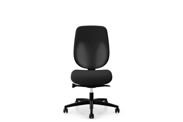 GIROFLEX Bürostuhl 353-4029 353-4029 schwarz, ohne Armlehne