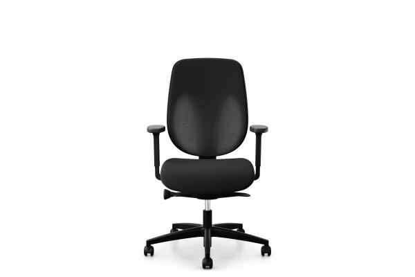 GIROFLEX Bürostuhl 353-4029 353-4029 schwarz, mit Armlehne