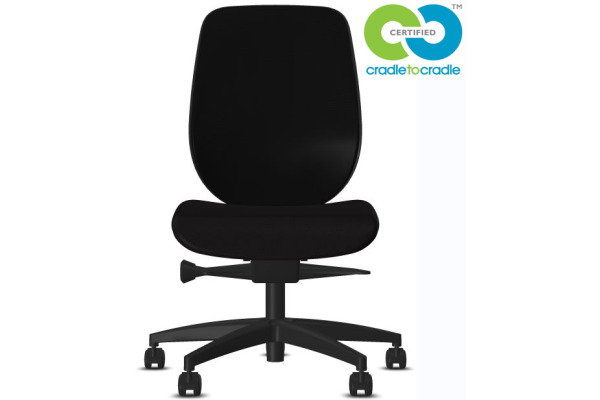 GIROFLEX Bürostuhl 353-4029 C2C 353-4029 schwarz, ohne Armlehne
