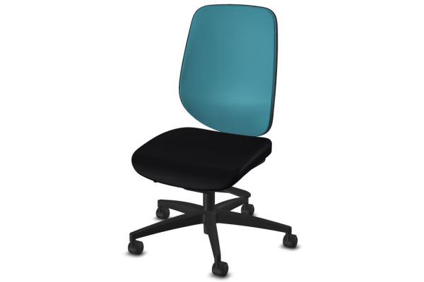 GIROFLEX Bürostuhl 353 353-4029 schwarz/blau