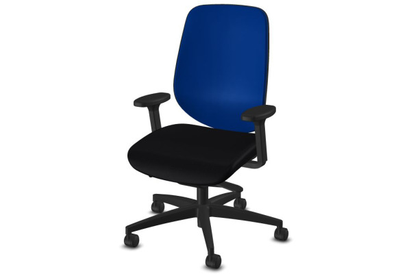 GIROFLEX Bürostuhl 353 353-8029 schwarz/blau