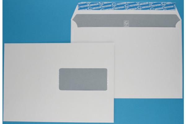 GOESSLER Couvert Cavanna m/Fenster C5 1351 100g, weiss 500 Stück
