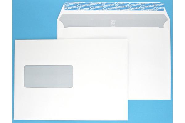 GOESSLER Couvert Cavanna m/Fenster C5 1354 100g, weiss 500 Stück