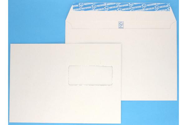 GOESSLER Couvert Renova m/Fenster C5 1365 100g, grau 500 Stück