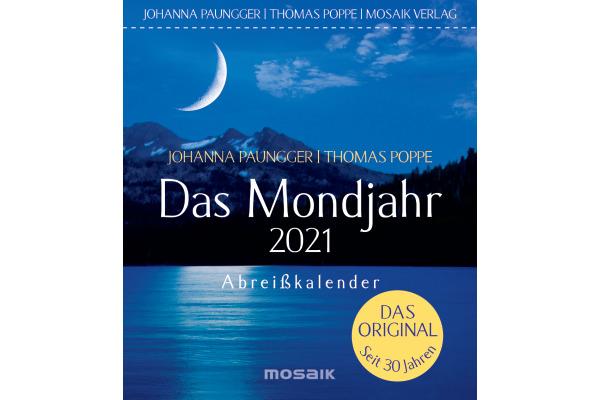 GOLDMANN Das Mondjahr Abr.kal. 442319244 11,5x13cm 2021