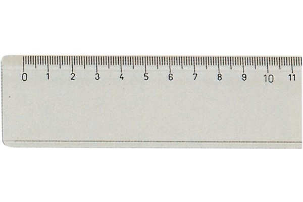 GRAFONORM Flachlineal 30cm 88 30 transparent