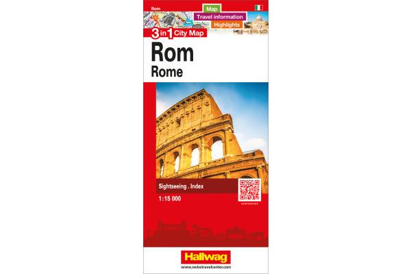 HALLWAG City Flash 12,5x21cm 382830880 Rom