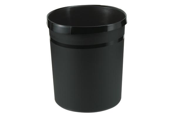 HAN Papierkorb GRIP 18lt 18190-13 schwarz