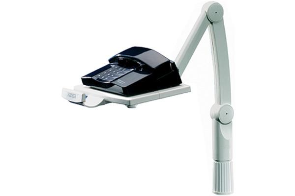 HANSA Telefon-Schwenkarm 41-5020.02grau 173x260mm