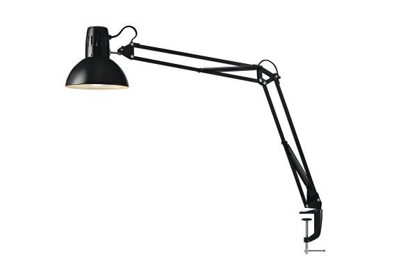 HANSA LED Leuchte LED Manhatten 415010681 5 Watt, schwarz, Klemmfuss