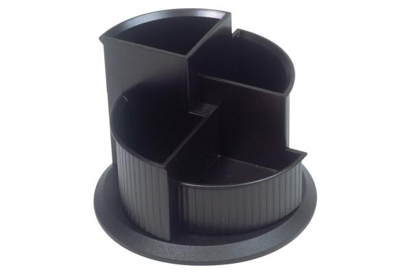 HELIT Stifteköcher 150x112mm H6390595 schwarz