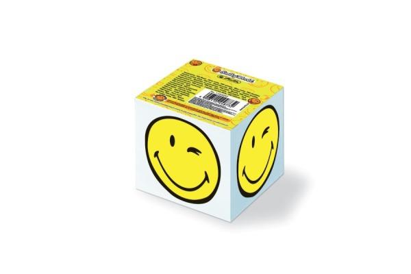 HERLITZ SmileyWorld Notizklotz 11245297 700 Blatt 8x8x7 cm