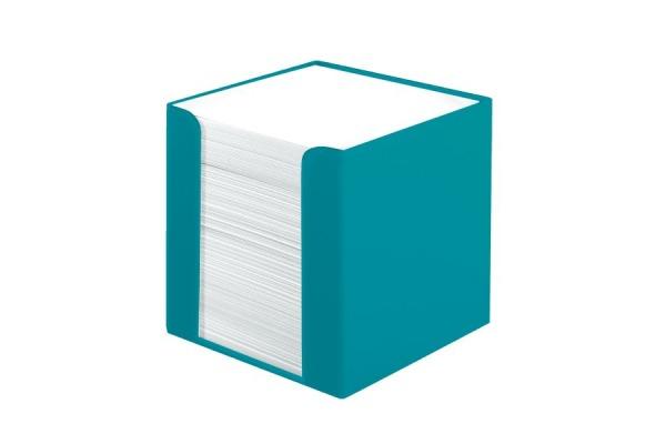 HERLITZ Zettelkasten 9x9cm 50015870 Carribean Turquoise 700 Blatt
