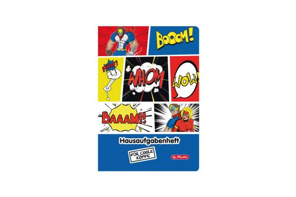 HERLITZ Hausaufgabenheft A5 50016532 Comic