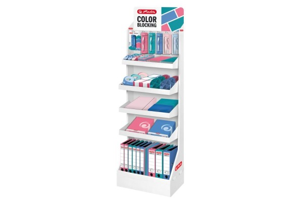 HERLITZ Display Color Blocking 50017294 39 verschiedenen Produkte