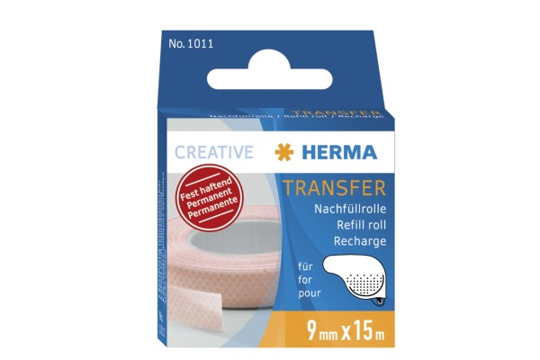 HERMA Transfer-Klebeband 15m 1011 permanent