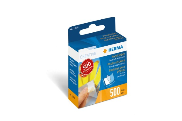 HERMA Fotokleber-Spender 1070 permanent 500 Stück