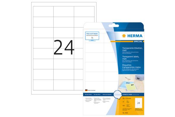 HERMA Etiketten Special 66×33,8mm 4681...