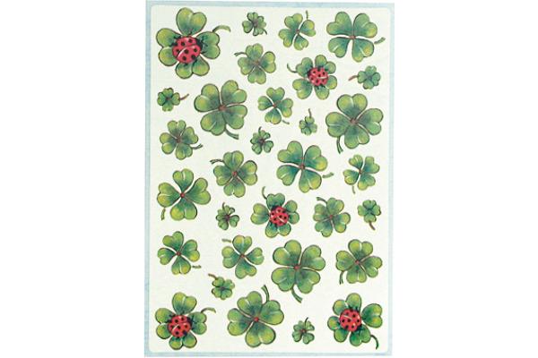 HERMA Etiketten Decor 84x120mm 5438 Kleeblätter...