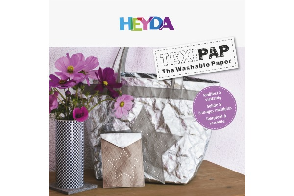 HEYDA Topschild TEXIPAP 203072299 Display