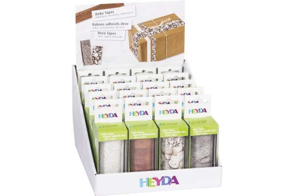 HEYDA Deko Tape Display Natur 203584368 20 Blister