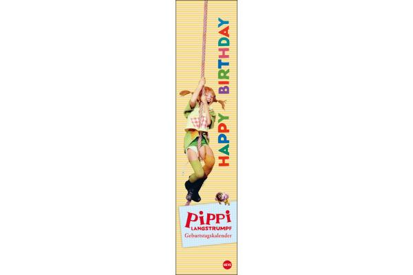 HEYE Geburtstage Pippi Langstrumpf 840163500 DE, 11x49cm,