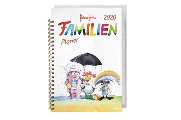 HEYE Familienplaner Helme Heine 840168154 DE, 15,2x23,2cm, 2020