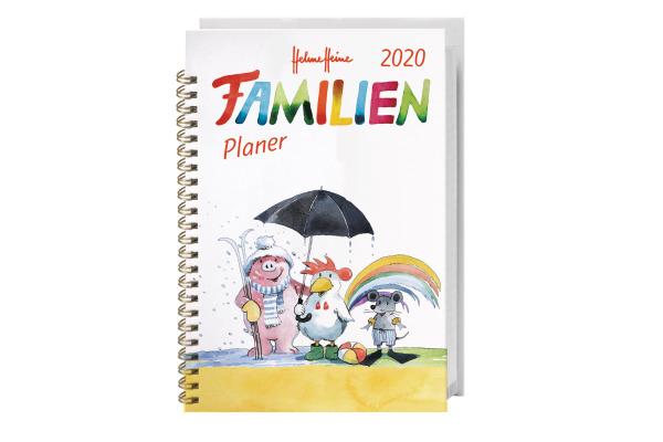 HEYE Familienplaner Helme Heine 840168178 DE, 11,6x16,3cm, 2020