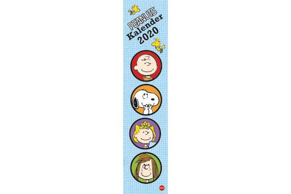 HEYE Monatsplaner Peanuts 840170720 DE, 16x69,5cm, 2020