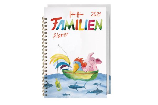 HEYE Familienplaner Helme Heine 840176241 DE,15,2 X 23,2cm,2021