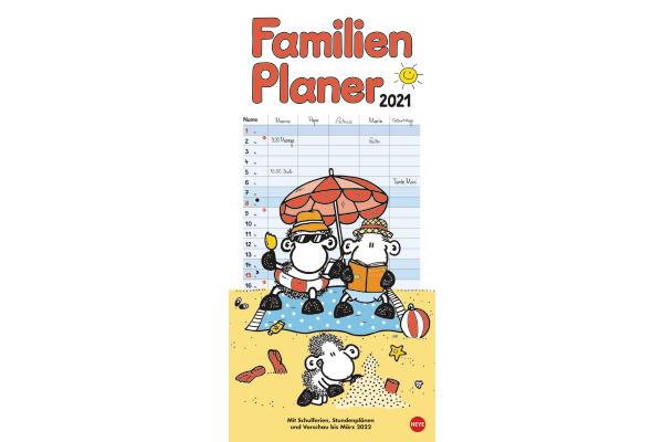 HEYE Familienplaner Sheepworld 840177026 DE,21 X 45cm,2021