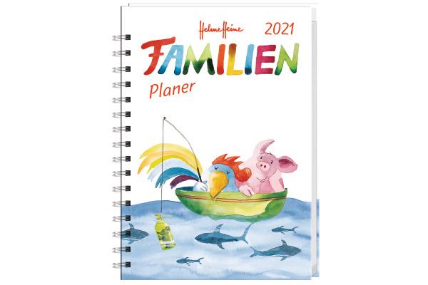 HEYE Familienplaner Helme Heine 840177033 DE,11,5 X 16,3cm,2021