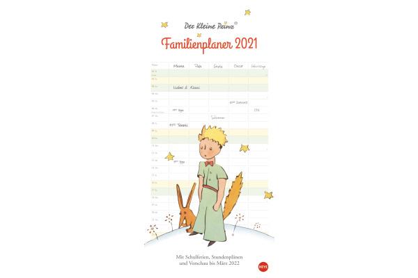 HEYE Familienplaner Der kl. Prinz 840177736 DE,21 X 45cm,2021
