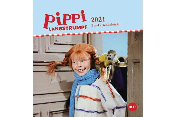 HEYE Postkarten Pippi Langstrumpf 840177897 DE,16 X 17cm,2021