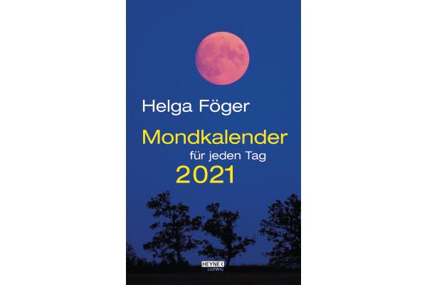 HEYNE Mondkalender für jeden Tag 453238718 D, 21.5x13cm, 2021