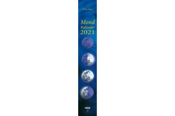 HEYNE Mondkalender für jeden Tag 453238763 D, 70x11cm, 2021