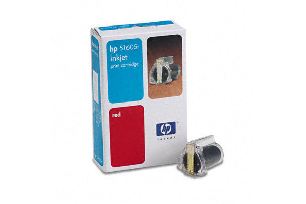 HP Tintenpatrone rot 51605R ThinkJet