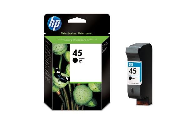 Cartouche encre HP 45 noir Originale (HP 51645AE)