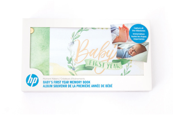 HP Moment Makers 7JB59A First Year Memory Book
