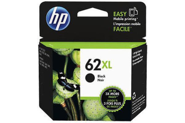 HP Tintenpatrone 62XL schwarz C2P05AE Envy 5640 e-AiO 600...