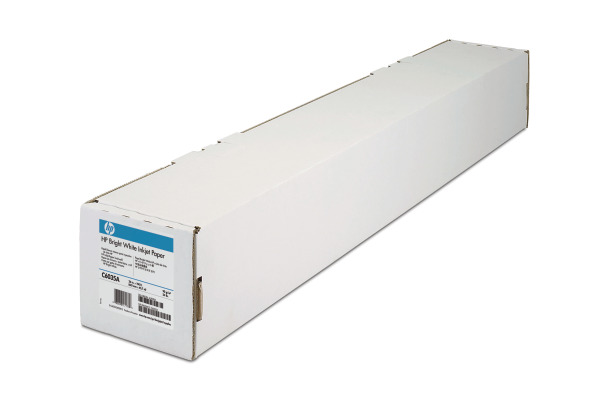 HP Bright White Paper 90g 45m C6035A DesignJet 650C 24 Zoll
